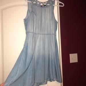 Blue Jean Dress - L